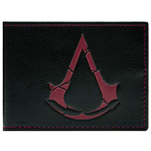 Cartera de Ubisoft Assassins Creed Rogue Símbolo Negro