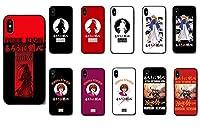 Eiffy るろうに剣心 緋村剣心 シリコンケース for iphone 軽量 指紋防止 擦り傷防止 全面保護 耐衝撃TPU (E,iphone 11)
