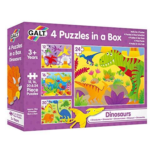 Galt America- Toys Mi Primer Puzle, Dinosaurios, Multicolor (Galt 1004735) , color, modelo surtido
