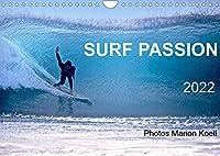 SURF PASSION 2022 Photos von Marion Koell (Wandkalender 2022 DIN A4 quer): Surf Photos voller Stimmung in Europa (Monatskalender, 14 Seiten )