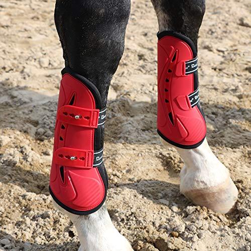 GCSEY Paard Been Boot Equine Hock Boot Paard Leggings Modder Sokken Paard En Pony Turnout Boots Neopreen Help voorkomen Mud koorts, 4 Stks/Set
