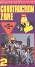 Construction Zone - Road Construction/Building Construction How We Work - 2 Pack VHS