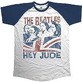 Rockoff Trade Hey Jude Windswept Camiseta, Azul (Marino), M para Hombre