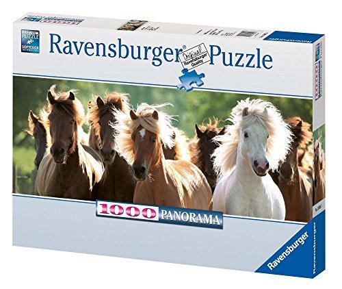 Ravensburger 15091 - Wildpferde - 1000 Teile Panorama Puzzle
