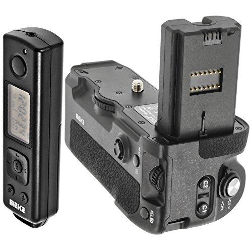 Meike - Empuñadura de batería, compatible con Sony Alpha A9, A7RIII y...