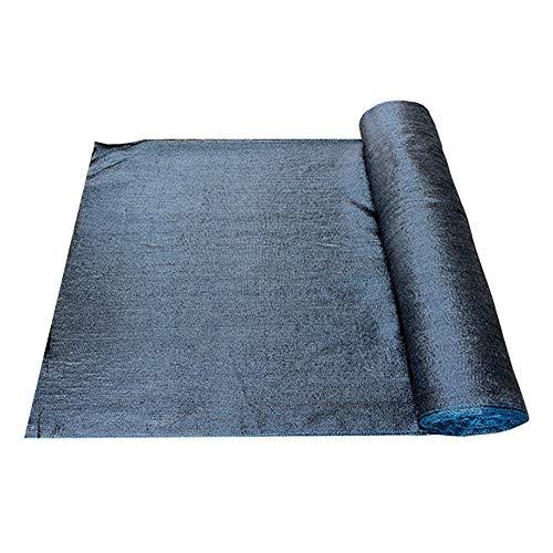 Filet d'ombrage Rouleau d'ombrage noir pour usage intensif, 80% d'ombrage Sun-Block pour la couverture de pergola, idéal pour les abris de piscine/poulet (Size : 4×50M)