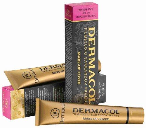 DERMACOL Make-up Cover (Fondotinta, ideale per coprire tatuaggi e cicatrici)