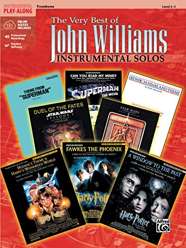 The Very Best of John Williams: Trombone, Book & Online Audio/Software