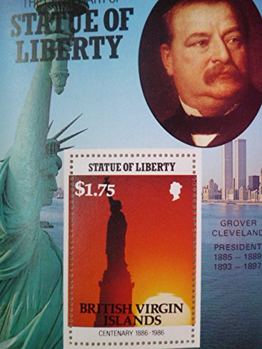 英領バージン諸島『自由の女神100周年/アメリカ歴代大統領』(クリーブランド)