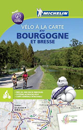 Mapa Bourgogne à Vélo (Mapas Temáticos Michelin) (French Edition)