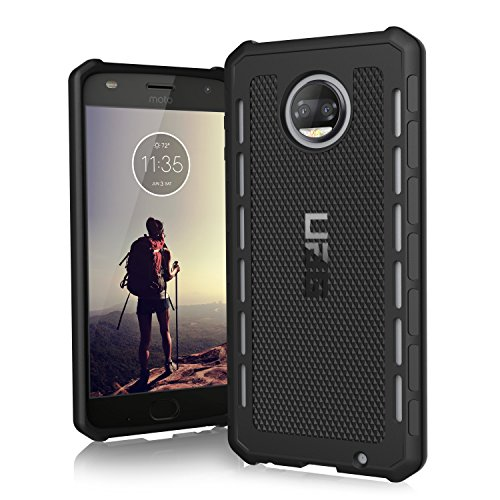 URBAN ARMOR GEAR [UAG Motorola Moto Z2 Force/Moto Z2 Play Outback Feather-Light Rugged [Black] Military Drop Tested Phone Case
