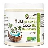 Huile de Coco Bio Désodorisée - 500ml