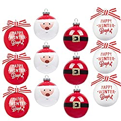 Art Beauty Shatterproof Christmas Baubles