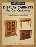 Display Cabinets You Can Customize
