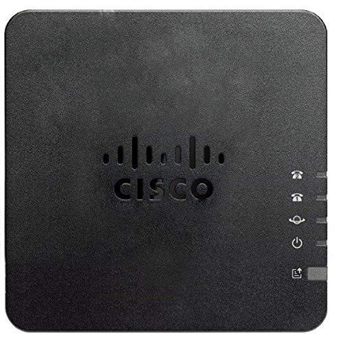 Cisco ATA 192 - VoIP-Telefonanschlüsse (SIP, TCP, UDP, RTP, HTTP, ARP, RTCP, ICMP, LLDP, SNMPv3, AES,HTTPS,SSH, 100 x 100 x 28 mm, 132,1 g)