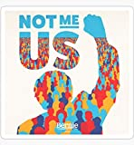 Decals Not Me Us, Bernie Sanders 2020| Bernie for President Campaign Slogan - Sticker Graphic - Auto, Wall, Laptop, Cell, Truck Sticker for Windows, Cars, Trucks