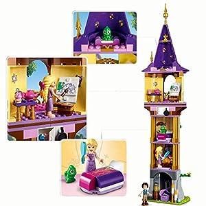 Amazon.co.jp - レゴ ディズニープリンセス ラプンツェルの塔 43187