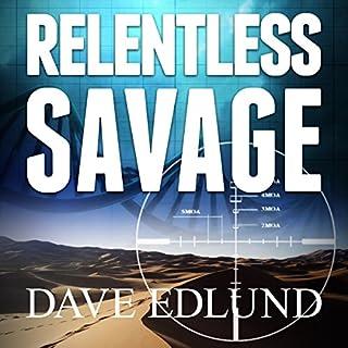 Relentless Savage audiobook cover art