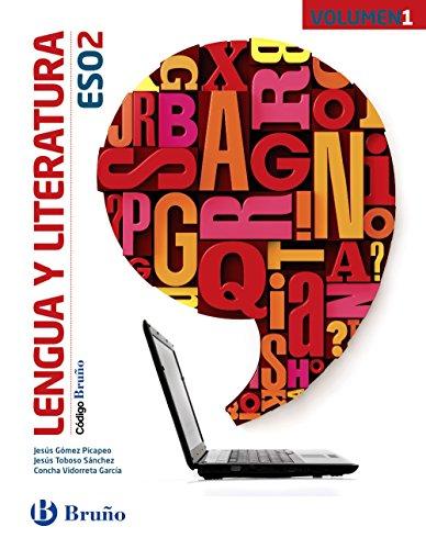 Código Bruño Lengua y Literatura 2 ESO - 3 volúmenes - 9788469613245