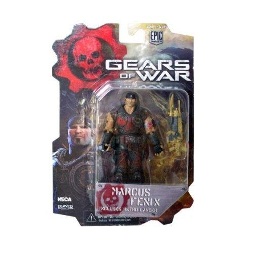 NECA 52238 - Gears of War 3, Serie 1: Marcus Bloody Variant, Figura de 10 cm Escala 3/4