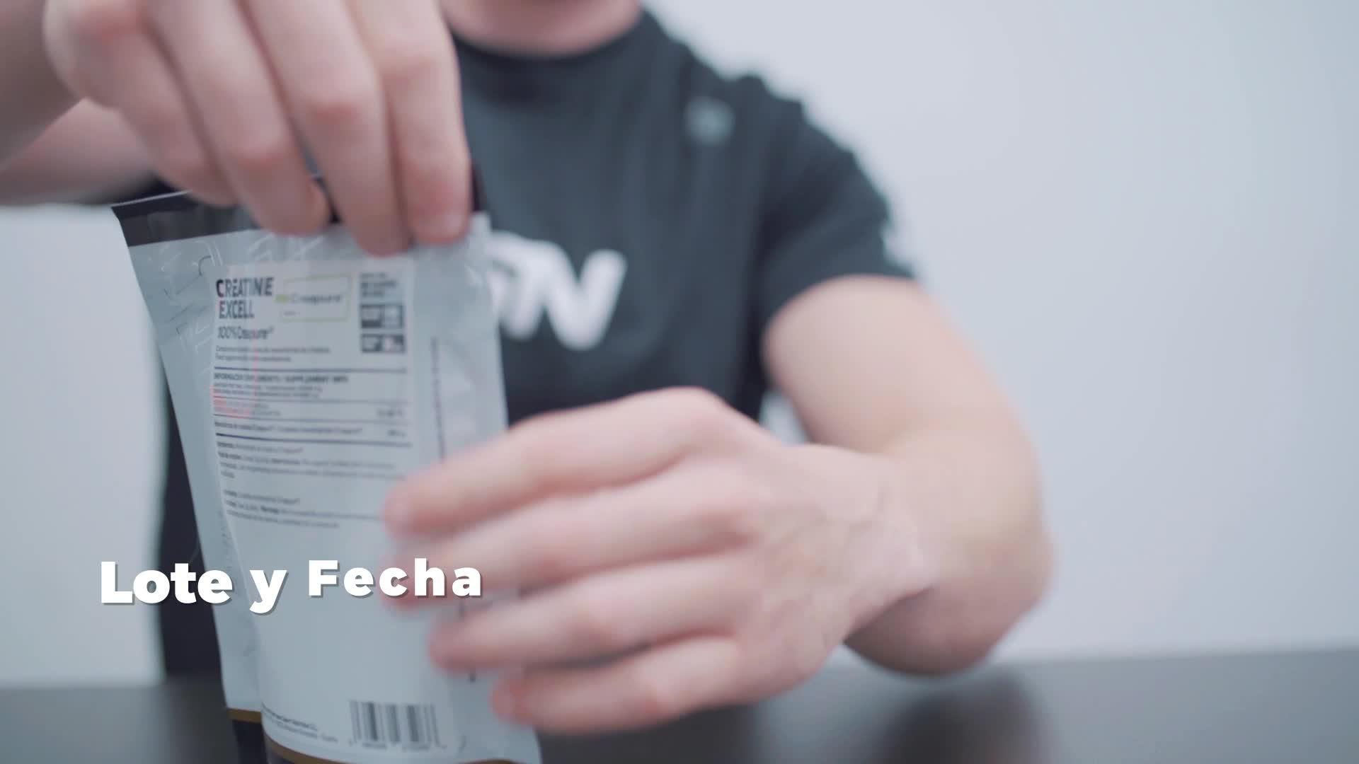 Creatina Creapure en Polvo de HSN   Creatina Excell 100% Creapure   Sello de Calidad Garantizada   Monohidrato de Creatina Micronizada   Vegano, Sin ...