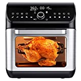 IKICH Air Fryer Oven, 10QT Big Capacity 10+7 Cooking Modes Toaster Oven, Bake, Broil, Slow Cook and...