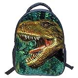 Mochila para niños Dinosaurio, 3D Dinosaurio vívido Impresión Mochilas Escolares para...
