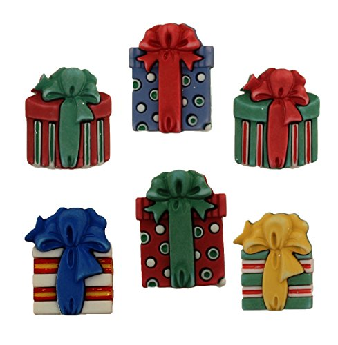 Buttons Galore Christmas Craft & Sewing Buttons Set of 3 Cards