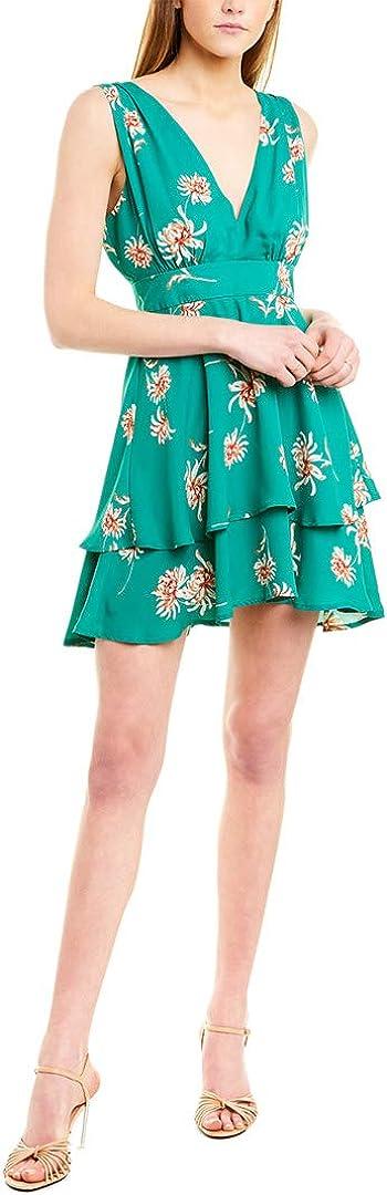BB DAKOTA Women's Garden Strolls Printed CDC Dress