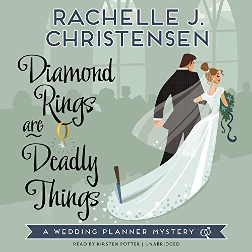 Diamond Rings Are Deadly Things audiobook cover art