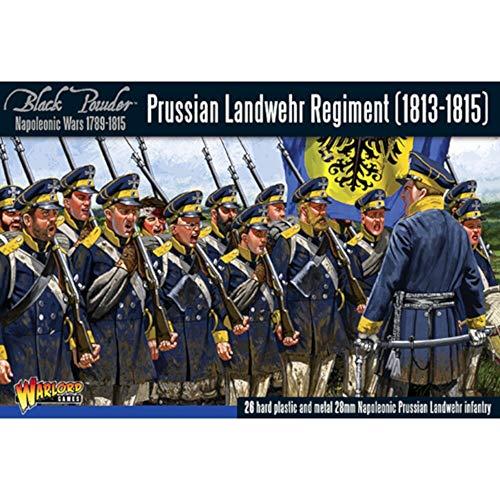 Black Powder Prussian Landwehr Regiment Napoleonic War 1813-1815 Military Wargaming Plastic Model Kit