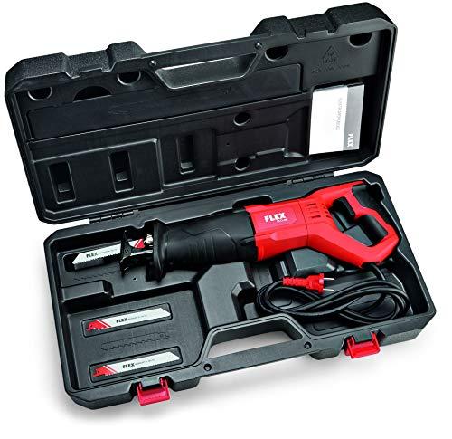 Flex 432776 Universal-Säbelsäge RS 11-28 (Säge mit Gasgebeschalter, 1100 Watt, Leerlaufhubzahl 0-2700 /min, Hub 28 mm)