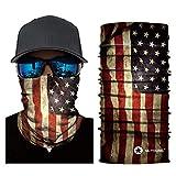 Skull Face Mask Bandanas, Neck Gaiter, Headwear, Magic Scarf, Headband for dust Sun Wind