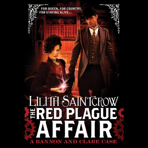 The Red Plague Affair audiobook cover art