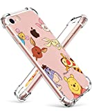 Darnew Bear Family Funda para iPhone 7/8/SE 2020, Dibujos Animados Lindo Moda Suave de TPU Diseño de Gracioso Divertido Frio para Niños y Niñas Mujer, Casos para iPhone 7/8/SE 2020