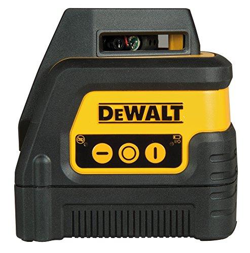 Dewalt DW0811-XJ Láser autonivelante 360º y línea vertical, Negro y amarillo