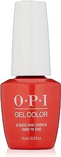 OPI GelColor, Gel Nail Polish, Orange