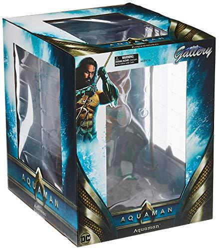 Diamond- DC Movie Gallery Comics Estatua Aquaman, Color surtido (DIAMAUG182575) 4
