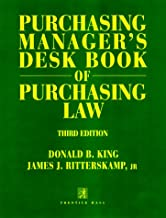 Purchasing Manager's Desk Book of Purchasing Law