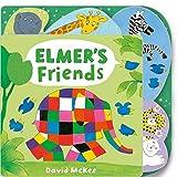 Elmer's Friends: Tabbed Board Book [Lingua inglese]