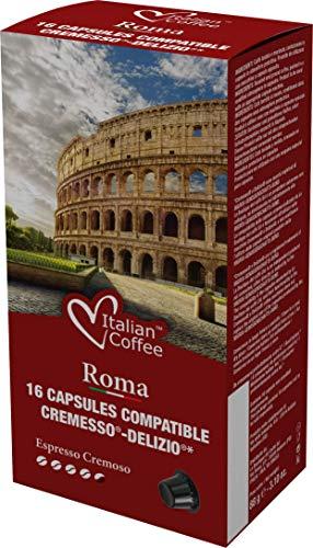 96 Cápsulas Cremesso® Delizio® Compatibles Café Cremoso
