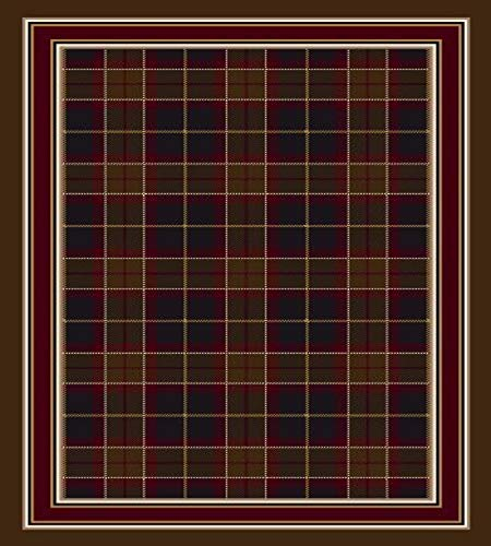Milliken Signature CollectionMagee Tartan Square Area Rug, 7'7