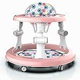 Mother And Me Andador de primeros pasos, para niños, apto para los más pequeños, 7 – 24 meses, mango transpirable de doble propósito para tirar y levantar el Baby Walker (pink)