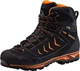 McKINLEY Annapurna AQX Chaussures de Randonnée Hautes Homme, Schwarz (Black/Orange 900) 46 EU