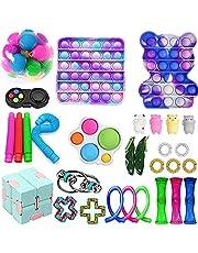 Fidget Toys Pack, Fidget Toy Sets Fidget Pack Barato, Simple Dimple Fidget, Push Bubble Fidget Juguete Sensorial Para Niños