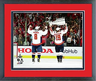 Alex Ovechkin Nicklas Backstrom Washington Capitals Stanley Cup Trophy  Photo (Size  12.5
