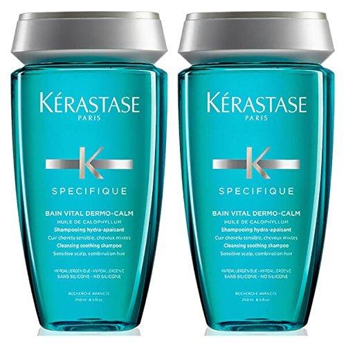 Kérastase, Spezial-Shampoo für entspannende Dermokalbäder, Vital-Shampoo, Duo, 250 ml