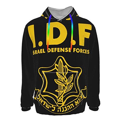 Israeli Defense Force Logo 3d Printed Couple Hoodie Sweatshirt Pullover Hoody For Men Women Black