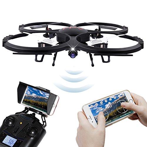DBPOWER WiFi Version U818A WiFi FPV Drone...