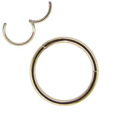 Gold Nose Ring Amazon Co Uk